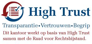 DOOR1DEUR mediation in Apeldoorn werkt op basis van High Trust met de Raad voor rechtsbijstand