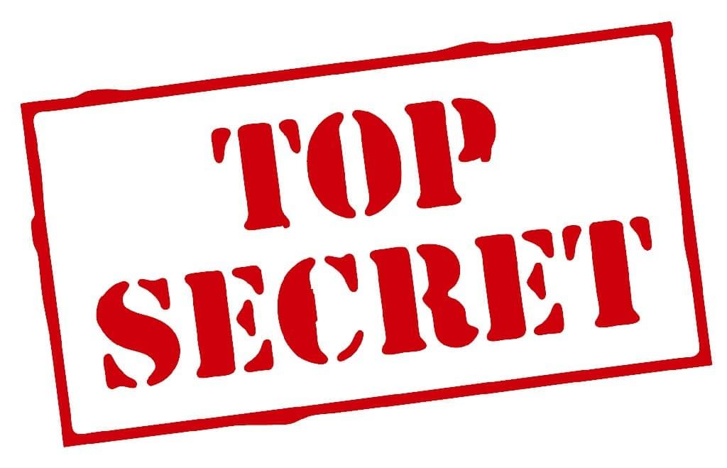 Top secret publiciteitsgevoelig