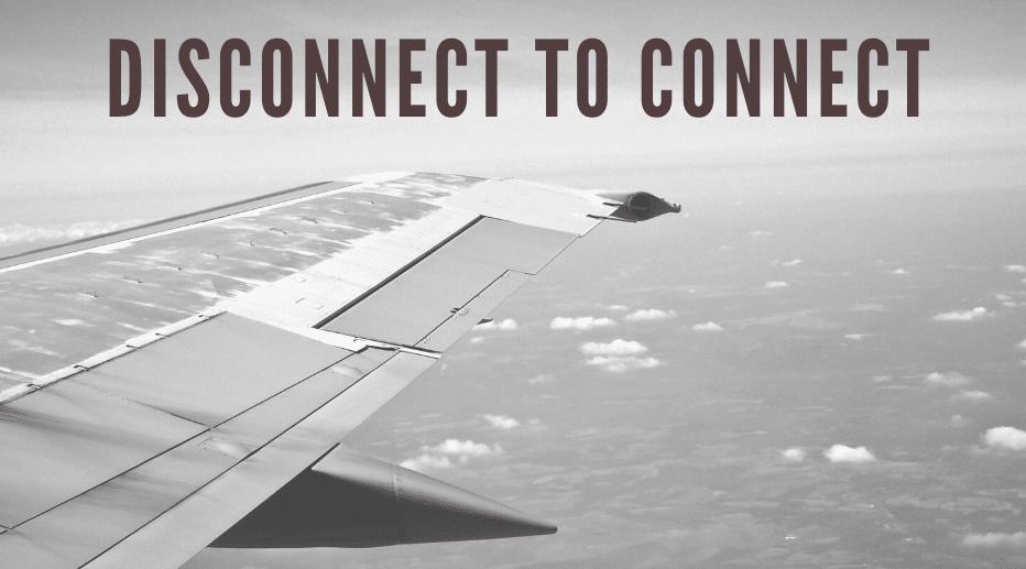 Mobiel bij mediation in vliegtuigmodus